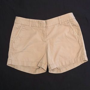 Tan/Khaki J. Crew Chino Shorts